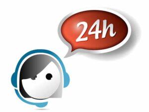 Réponse sous 24 heures par mail
